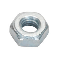 Sealey SN3 Steel Nut M3 Zinc DIN 934 Pack of 100