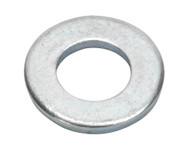 """Sealey FWI102 Flat Washer 7/16"""" x 7/8"""" Table 3 Imperial Zinc BS 3410 Pack of 50"""