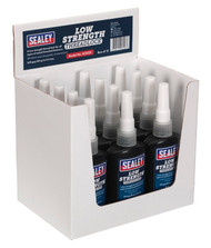 Sealey SCS222 Thread Lock Low Strength 50ml Pack of 12