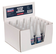 Sealey SCS302 Super Glue Fast Setting 20g Pack of 20