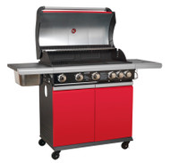 Sealey BBQ11 Gas BBQ 5 Burner + Side Burner & Side Bowl