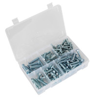 "Sealey AB047UNF Setscrew Assortment 144pc 1/4""-3/8""UNF BS 1768"