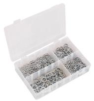Sealey AB057LW Lock Washer Assortment 1000pc Serrated Internal M5-M10 Metric DIN 6798J