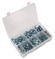 Sealey AB067SM Acme Screw with Captive Washer Assortment 300pc Zinc BS 4174CZ