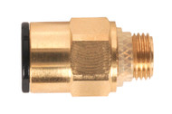 "Sealey JGBC818 Brass SuperThread Straight Adaptor 8mm x 1/8""BSP Pack of 2"