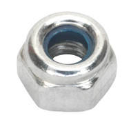 Sealey NLN4 Nylon Lock Nut M4 Zinc DIN 982 Pack of 100