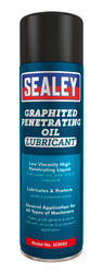 Sealey SCS022 Graphited Penetrating Oil Lubricant 500ml Pack of 6