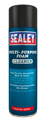 Sealey SCS045 Foam Cleaner Multipurpose 500ml Pack of 6