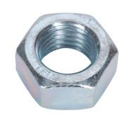 Sealey SN24 Steel Nut M24 Zinc DIN 934 Pack of 5