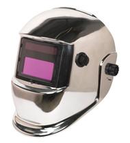 Sealey PWH598C Welding Helmet Auto Darkening Shade 9-13 - Chrome