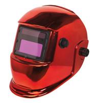 Sealey PWH598R Welding Helmet Auto Darkening Shade 9-13 - Red