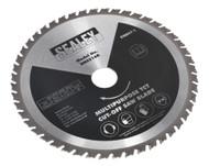 Sealey SMS216B Multipurpose Cut-Off Saw Blade ¯216 x 2.4mm/¯30mm 48tpu