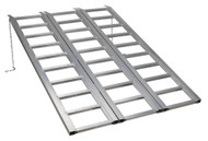 Sealey FLR680T Motorcycle/Trike/ATV & Mini Tractor Ramp Wide Tri-Fold 680kg Capacity