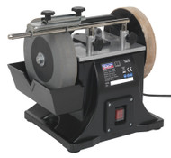 Sealey SMS2101 Sharpener ¯200mm with Honing Wheel