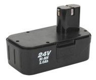 Sealey CP2400MHBP Cordless Power Tool Battery 24V 2Ah Ni-MH for CP2400MH