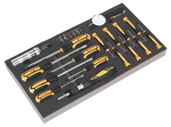 Siegen S01128 Tool Tray with Screwdriver Set 36pc