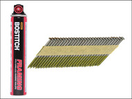 "Bostitch BOS31R90G12F - 3.1 x 90mm Paper Tape 33'«'""'â'¢'«Î䒫΁ Nails & Fuel Ring Shank Galvanised (2200)"