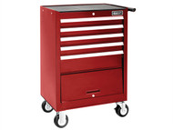 Britool Expert BRIE010140B - Roller Cabinet 5 Drawer + Compartment - Red