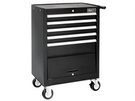 Britool Expert BRIE010141B - Roller Cabinet 5 Drawer + Compartment - Black