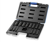 Britool Expert BRIE041602B - Deep Impact Socket Set of 14 1/2in Drive