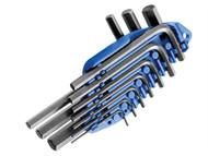 Britool Expert BRIE069253B - Hexagon Key Short Arm Set of 10 Metric (1.5-10mm)