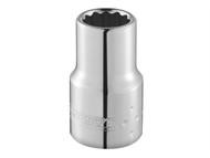 Britool Expert BRIE113749B - Bi-Hexagon Socket 12 Point Regular 1/4in Drive 1/2in