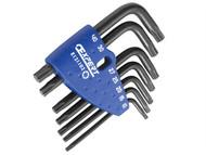 Britool Expert BRIE121103B - Torx Key Set of 7 Tamper (TT10-TT40)