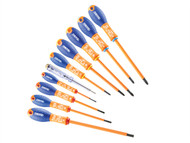 Britool Expert BRIE160912B - Screwdriver Set 10 Piece Insulated
