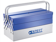 Britool Expert BRIE194738B - Metal Cantilever Toolbox 5 Tray 450mm