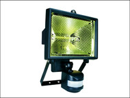 Byron BYRES400 - ES400 Halogen Floodlight with PIR Black 400 Watt
