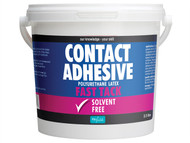 Polyvine CASCA25L - Contact Adhesive Solvent Free Fast Tack 2.5 Litre
