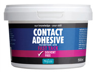 Polyvine CASCA500 - Contact Adhesive Solvent Free Fast Tack 500ml