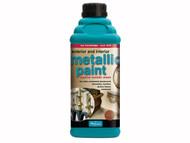 Polyvine CASMPG1L - Exterior & Interior Metallic Paint Pale Gold 1 Litre