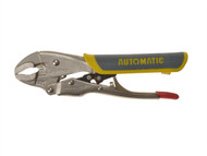 C H Hanson CHH06105 - Automatic Locking Curved Jaw Pliers Soft Grip Handle 150mm (6in)