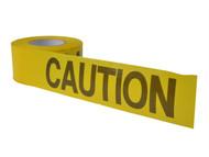 C H Hanson CHH16000 - Standard Grade Barricade Tape - Caution Yellow 305m (1000ft)
