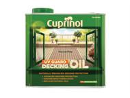 Cuprinol CUPDONP25L - UV Guard Decking Oil Natural Pine 2.5 Litre
