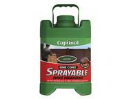 Cuprinol CUPSFTFG5L - Spray Fence Treatment Forest Green 5 Litre
