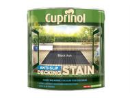 Cuprinol CUPUTDSBA25L - Anti Slip Decking Stain Black Ash 2.5 Litre