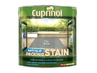 Cuprinol CUPUTDSCS25L - Anti Slip Decking Stain City Stone 2.5 Litre