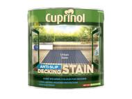 Cuprinol CUPUTDSUS25L - Anti Slip Decking Stain Urban Slate 2.5 Litre