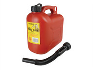 Silverhook D/ICAN1 - Leaded Petrol Can & Spout Red 5 Litre