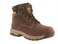 DEWALT DEWCARBON12B - Carbon Safety Brown Nubuck Hiker Boots UK 12 Euro 47