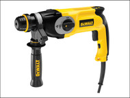 DEWALT DEWD25123K - D25123K SDS Plus 3 Mode Combi Hammer Drill 800 Watt 240 Volt