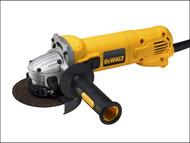 DEWALT DEWD28113KL - D28113KL 115mm Mini Angle Grinder & Kit Box 900 Watt 110 Volt