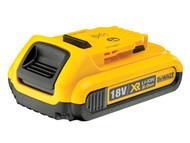 DEWALT DEWDCB183 - DCB183 XR Slide Battery Pack 18 Volt 2.0Ah Li-Ion