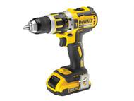DEWALT DEWDCD795D2 - DCD795D2 Compact Brushless Hammer Drill Driver 18 Volt 2 x 2.0Ah Li-Ion