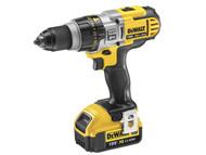 DEWALT DEWDCD985M2 - DCD985M2 XRP Premium Combi Hammer Drill 18 Volt 2 x 4.0Ah Li-Ion