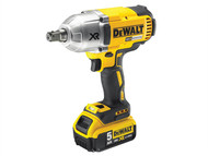 DEWALT DEWDCF899P2 - DCF899P2 XR Brushless High Torque Impact Wrench 18 Volt 2 x 5.0Ah Li-Ion