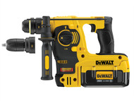 DEWALT DEWDCH364M2 - DCH364M2 Heavy-Duty Quick Change SDS Plus Rotary Hammer 36 Volt 2 x 4.0Ah Li-Ion