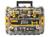 DEWALT DEWDCK259M2T - Help For Heroes Brushless Twin Pack 18 Volt 2 x 4.0Ah Li-Ion